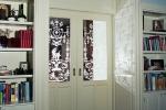 kamerdeuren met glas en gezandstraalde afbeelding