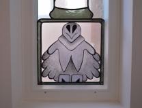glas in lood brandschildering rokin uil