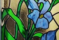 glas-in-lood irissen edelglas