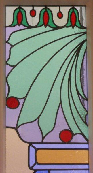 glas in lood detail rokin amsterdam