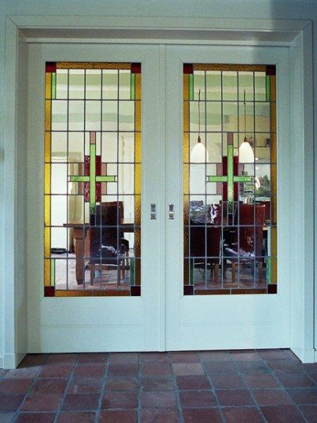 Eigen glas in lood ramen glas in lood raam - Kamer deco stijl ...