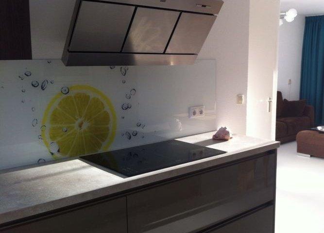achterwand keuken foto edelglas