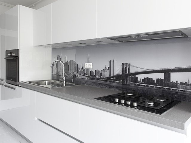 Glasplaat Keuken Foto : Glasplaat Keuken Achterwand: Glazen keukenachterwand kopen glazz. L