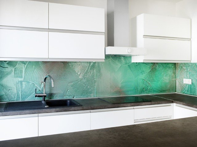 Keuken Foto Achterwand : keuken-achterwand-gesmolten-glas-1-edelglas