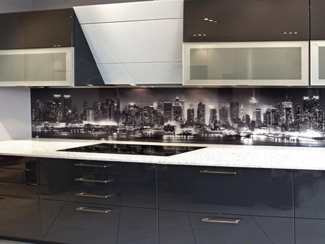 Achterwand Modern Keuken : Achterwand keuken edelglas glazen achterwanden keuken op maat