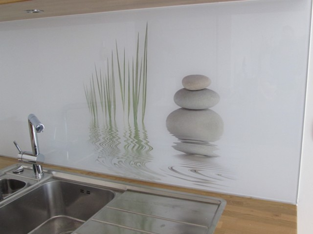 Achterwanden Keuken Foto : glazen-achterwand-keuken-foto-steen-edelglas