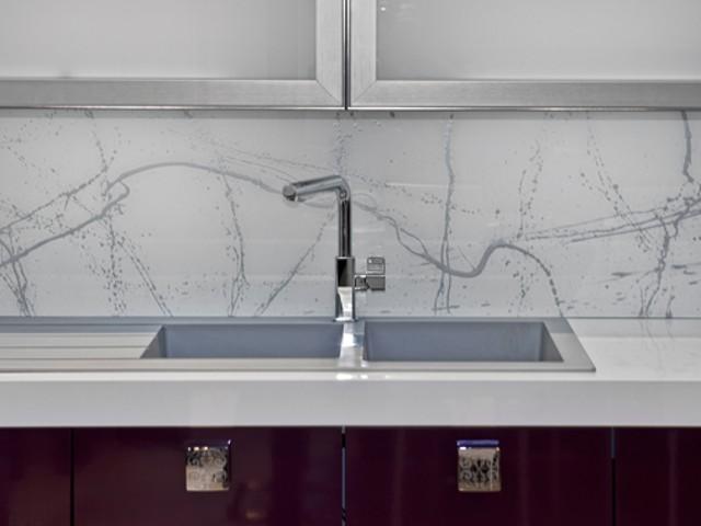 Glas In Keuken : Achterwand keuken edelglas glazen achterwanden keuken op maat