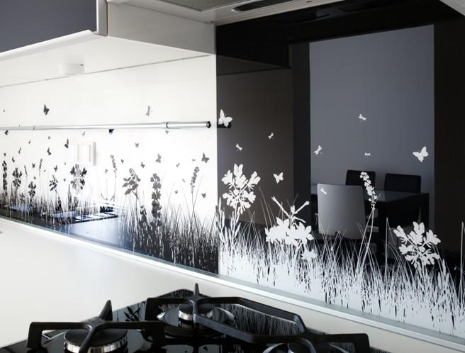 Donkere Eiken Keuken Lichter Maken : achterwand voor slaapkamer : Achterwand keuken glasatelier edelglas nl