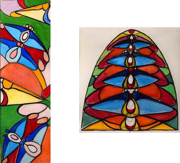 art-deco-ontwerp-vlinder