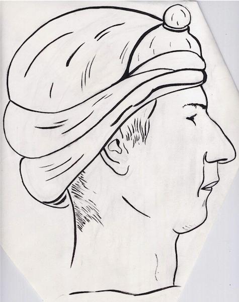 louis-kamerdeur-tekening-kop