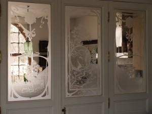 raam uit oude slagerij