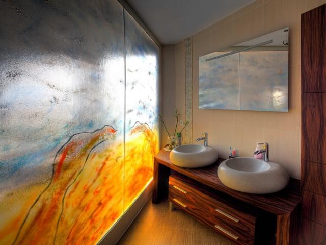 glazen tussenwand douchekabine glasatelier