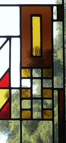glas in lood raam ijsselstein fl wright