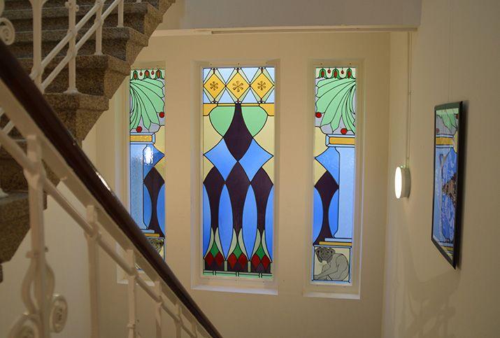 glas in lood rokin amsterdam 1e verdieping edelglas