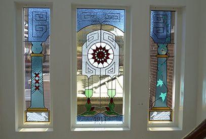 glas in lood rokin edeglas 4e verdieping
