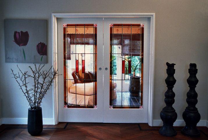 Glas in lood deuren - Deuren van glas in lood gemaakt door Edelglas