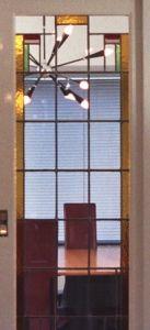 Glas in lood kamer en suite