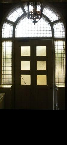 Glas in lood museumplein deur
