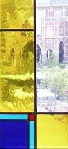 Glas in lood raam museumplein klein