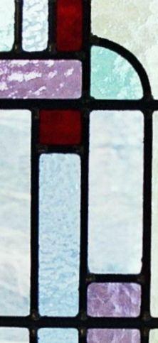 Glas in lood uithoorn bovenlicht