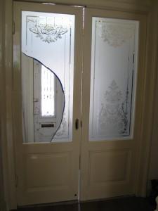 kapot geetst raam reparatie