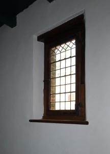 herstel oude glas in lood ramen Muiderslot