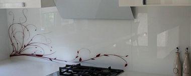 Achterwand keuken grafisch