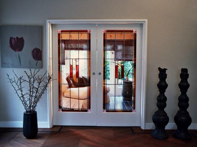 deuren van glas in lood