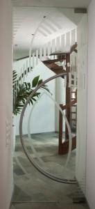 deurbeslag voor glas edelglas