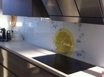 achterwand keuken glas citrus