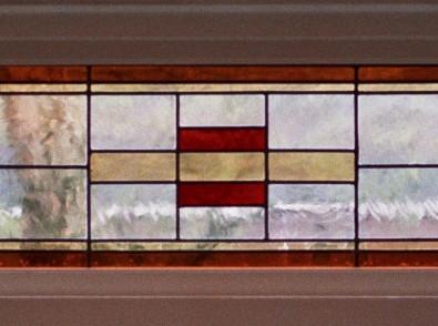 Bovenlichten glas in lood