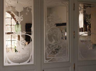 restauratie etsen van glas edelglas