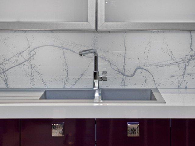 Melkglas Keuken Achterwand : Achterwand keuken edelglas: glazen achterwanden keuken op maat